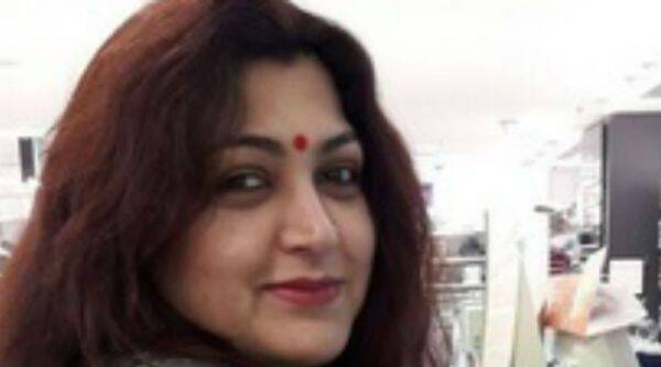 Actor and politician Khushbu has vehemently defended stalking in films