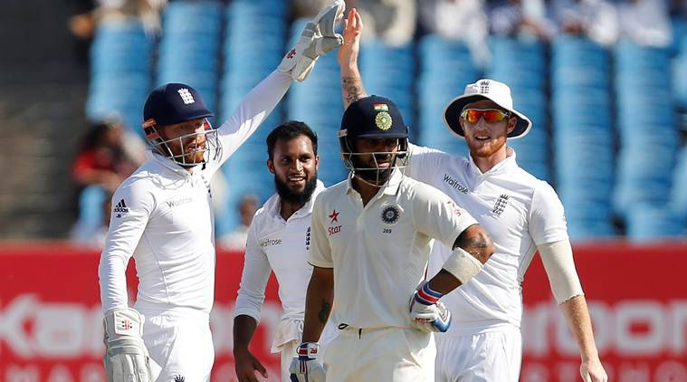 virat kohli, kohli, virat kohli dismissal, virat kohli hit wicket, india vs england, ind vs eng, ind vs eng score, cricket news, cricket