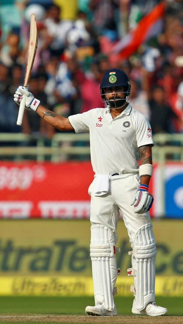 Virat Kohli, kohli, Virat Kohli photos, Virat Kohli test hundred, India vs England, Ind vs Eng, Ind vs Eng 2nd Test, Ind vs Eng 2nd Test Vizag, India vs England 2nd Test photos, ind vs Eng photos, Virat Kohli, kohli, Kohli photos, Cricket photos, cricket news, Cricket