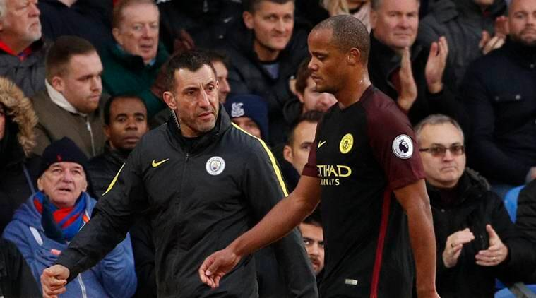 Vincent Kompany, Kompany, Vincent Kompany injury, Manchester City, City, Guardiola, Pep Guardiola, Premier League, Football news, Football