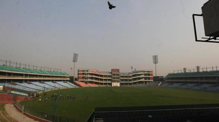 feroz shah kotla, ranji trophy, ranji, bengal vs gujarat, tripura vs hyderabad, delhi smog, delhi pollution, delhi weather, cricket news, sports news