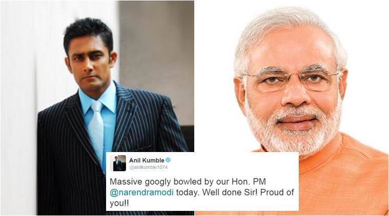 Check out Narendra Modi's response to Anil Kumble