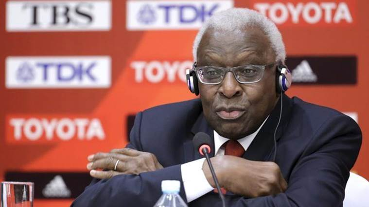 Lamine Diack, IAAF Lamine Diack, Diack, Lamine Diack bail, IAAF, International Association of Athletics, Sports news, Sports