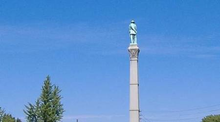 Confederate monument, Louisville Confederate monument, confederate monument to be moved, slavery monument, US news, world news, latest news, indian express