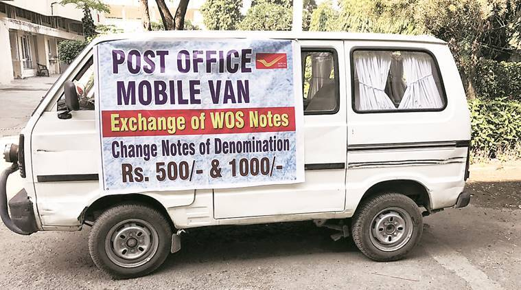 demonetisation, demonetisation Ludhiana, ludhiana old age homes, ludhiana senior citizens, senior citizens, demonetisation, old age homes demonetisation, ludhiana notes van, ludhiana news, india news, latest news, indian express