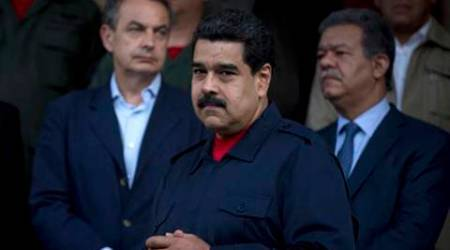 venezuela, venezuela president nicolas maduro, venezuela colombia border crossing, world news, indian express