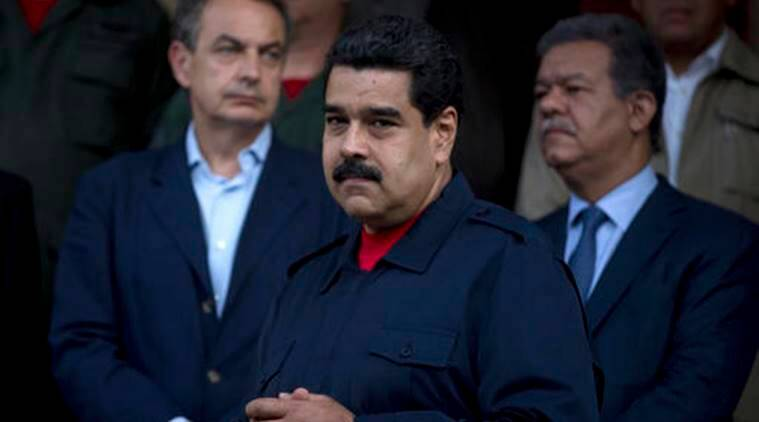 Venezuela, venezuelan crisis, venezuelan political deadlock, vatican envoy in venezuela, venezuela govt opposition dispute, venezuela truce talks, world news, latest news, indian express