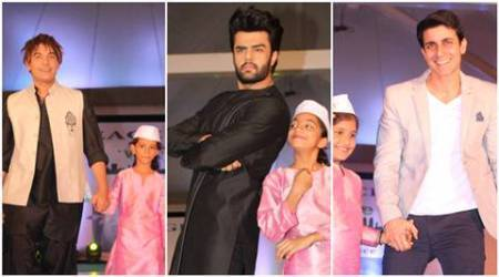 Abhishek Kapoor, Manish Paul, Gaurav Gera walk the ramp in a homage to 26/11 attack victims, see pic