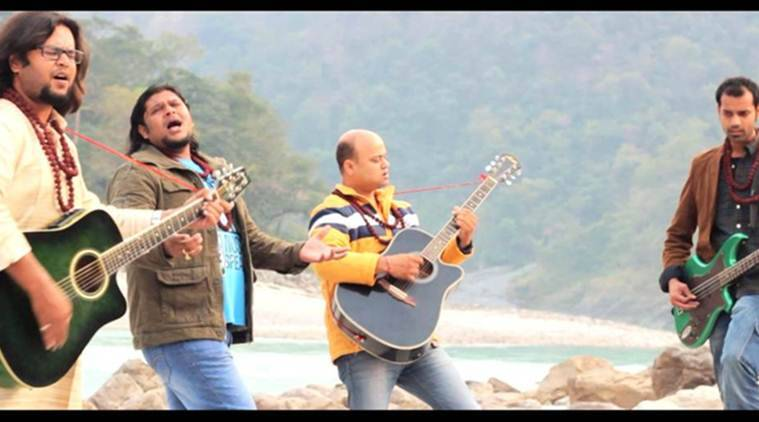 Hindi pop band, Malhaar, Malhaar ganga song, Hindi pop song, Gangaji, Gangaji pop song