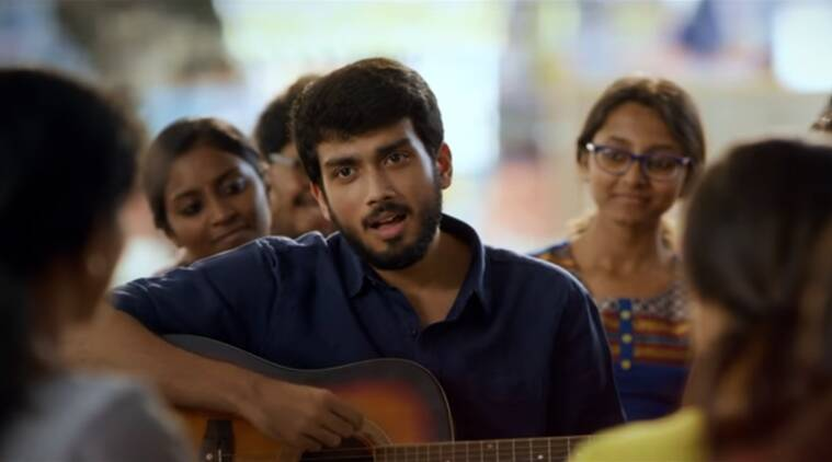 Actor Jayaram Kalidas from the song