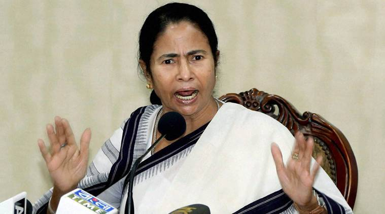 demonetisation, Mamata Banerjee, Mamata Banerjee protests against demonetisation, Central government move demonetisation, Shiv Sena supports Mamata, President Pranab Mukherjee, 500-1000 notes invalid, cash crunch, ATM dysfunctional, indian express news