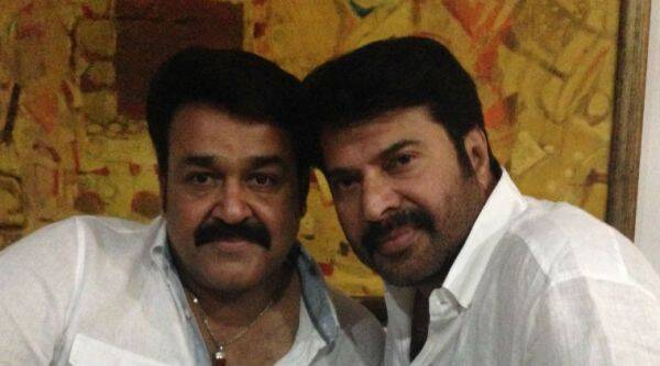 Mammootty watches Mohanlal's Pulimurugan