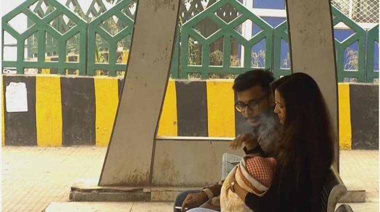 smoking, smoking in public places, public places smoking, smoking in public ban, public smoking ban, smoking in public places video, trending video, viral video, latest videos, viral news, trending news, latest news, indian express