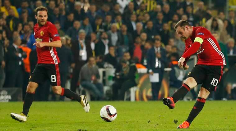 Manchester United, Manchester united vs fenerbahce, europa league, man utd lose, jose mourinho wayne rooney, fenerbahce, sports, sports news, football, football news