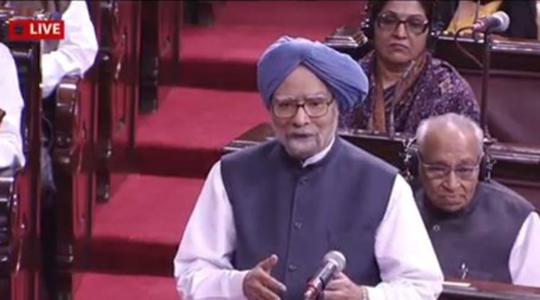 demonetisation, manmohan singh, cash crunch, old Rs 500 note, new Rs 2000 note, rajya sabha, parliament, congress, narendra modi