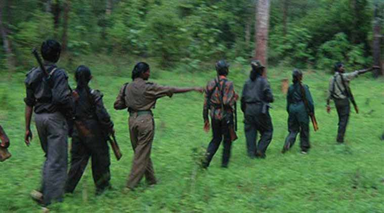 Telangana woman maoist, Maoist arrest, woman maoist arrest, telangana maoists, Telangana news, Indian Express news