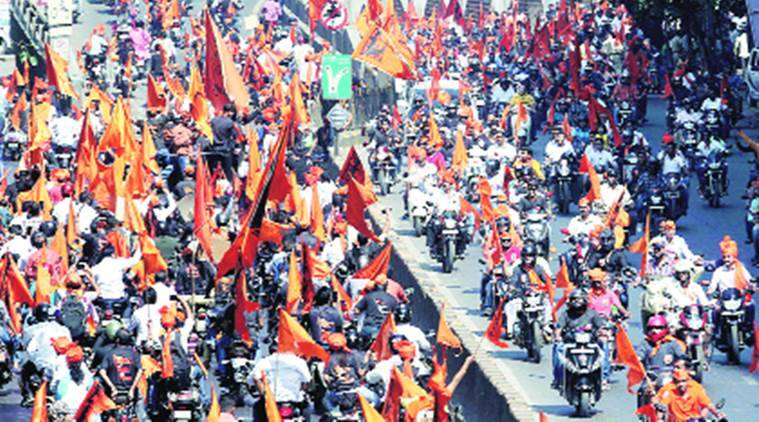 maratha protest, mumbai maratha protest, maratha reservation, maratha agitation, maratha crisis, maratha march, india news, indian express news