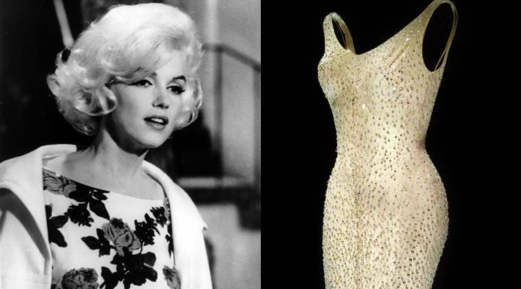 Marilyn Monroe, Marilyn Monroe dress, Ripley believe it or not, fashion, lifestyle