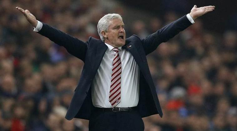 Mark Hughes, Stoke city manager Mark Hughes, Stoke City, West Ham United, Stoke city fans, brawl, london police, english premier league, football, football news, sports, sports news