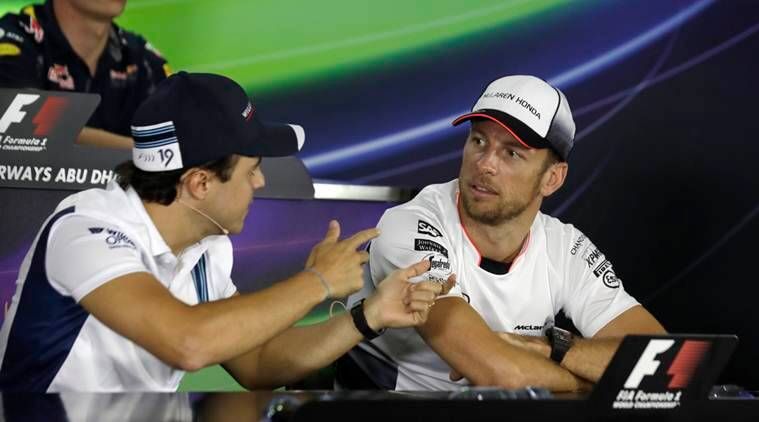 felipe massa, jenson button, massa retires, button retires, jenson button felipe massa, formula one, f1, abu dabhi grand prix, abu dabhi, hamilton, rosberg, f 1 news, sports news