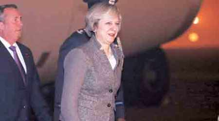 British PM arrives on 3-day visit: India one of UK's closest friends, says Theresa May