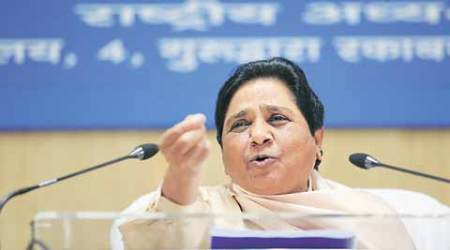 RSS, RSS on quota, Mayawati slams RSS, Manmohan Vaidya, Manmohan Vaidya remarks, RSS on quota, RSS on reservations, reservations remark, Mayawati UP, indian express news