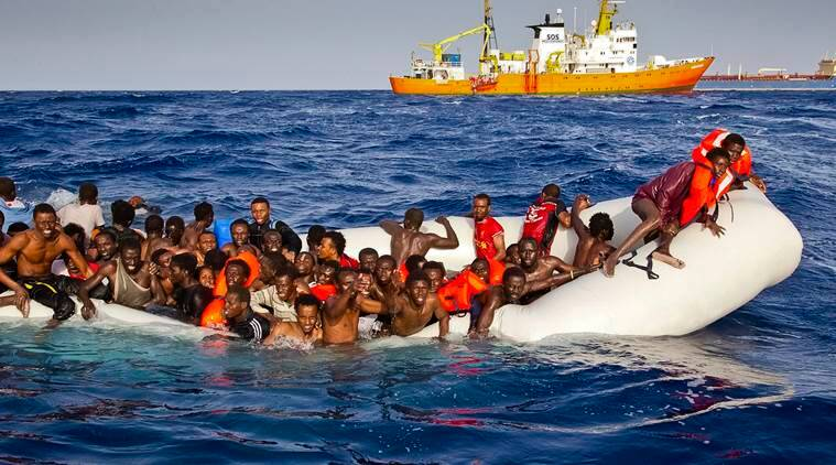 Italy, italy migrants, migrants, italy asylum seekers, sylum seekers, Europe, european union, world news, indian express news