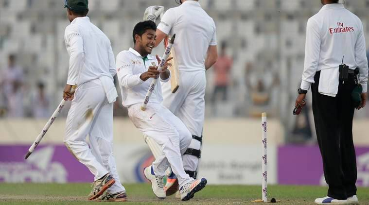 england vs bangladesh, eng vs bang, england vs bangladesh tests, mehedi hasan, mehedi hasan miraz, mehedi hasan wickets, mehedi hasan bangladesh, bangladesh vs england second test, india vs england, india vs england tests, cricket news, sports news
