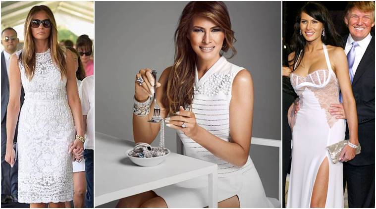 Melania Trump America S Most Glamorous First Lady Since Jackie Kennedy The Indian Express