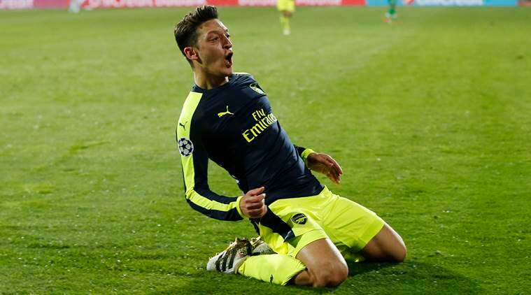 Arsenal, Ludogorets, Arsenal vs Ludogorets, Arsenal vs Ludogorets Champions league match, Champions League 2016, Mesut Ozil, Mesut Ozil goals, football, football news, sports, sports news