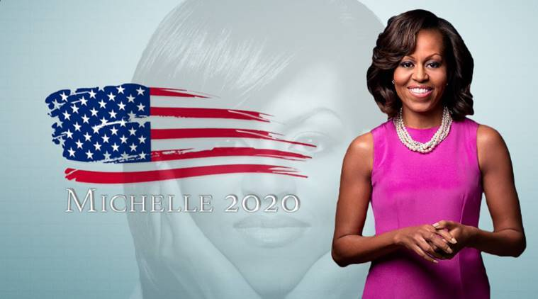 michelle obama, michelle obama 2020, donald trump, us election 2016, us presidential election, us election 2020, anti-trumo mandate, not for trump, indian express, indian express news
