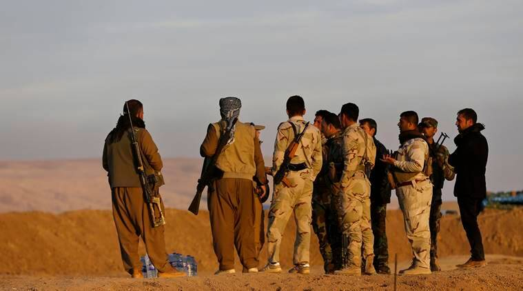 Kurdish Syria fighters, Turkey, US, Kurdish fighters, Syria fighters, Islamic State jihadists, IS Fighters, World News, Latest World News, Indian Express, Indian Express News
