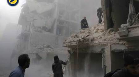 syria, aleppo, un, united nations, aleppo city, syrian war, world news, indian express