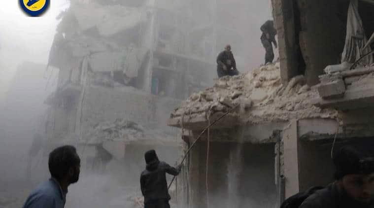 turkey, turkey soldiers, turkey news, turkish soldiers, turkish soldiers killed, turkish soldiers killed syria, syria, aleppo, aleppo city, syrian war, world news, indian express,