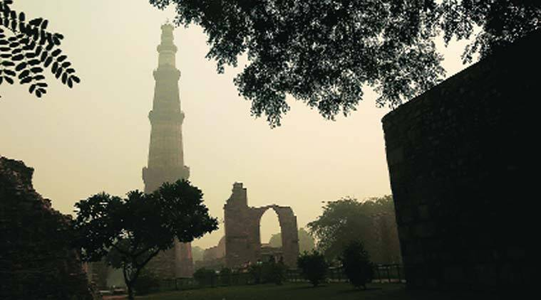 delhi pollution, hazardous air conditions in delhi, Delhi open burning, delhi construction, pollution hazard in delhi, pollution news, DDA pollution, DMC pollution,  delhi news, india news, latest news, indian express