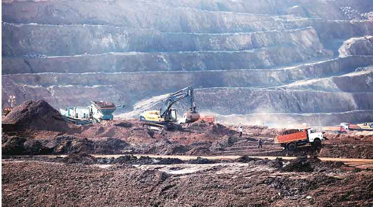 mines in india, mining, drones for mines, Surveying mines with drone, mine worker safety, coal mines, types of mine, india news