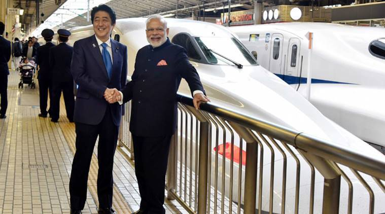 bullet train, shinkansen, japan bullet train, ahmedabad mumbai bullet train, indian railway, india high speed railway