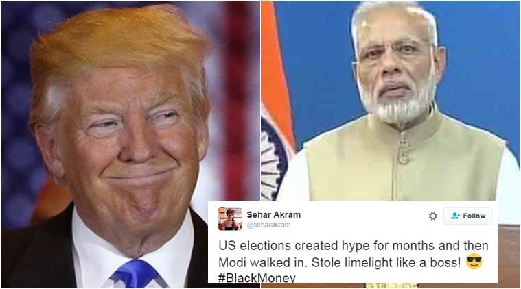 Didn't Narendra Modi steal the limelight yesterday?