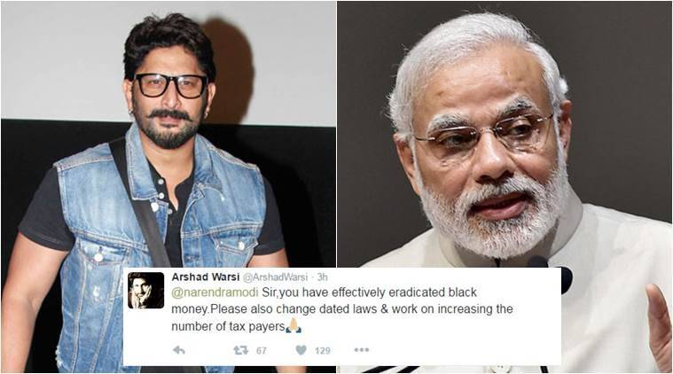 Arshad Warsi is not happy woth Prime Minister Narendra Modi's move