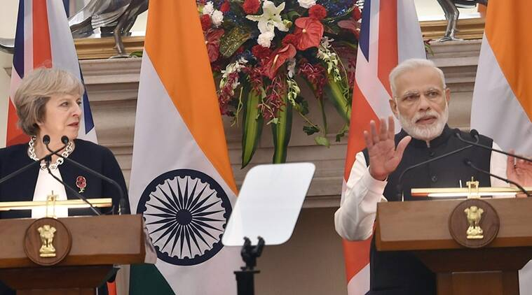 smart cities, smart cities project, theresa may, theresa may in india, india uk, india uk relations, india news, indian express,