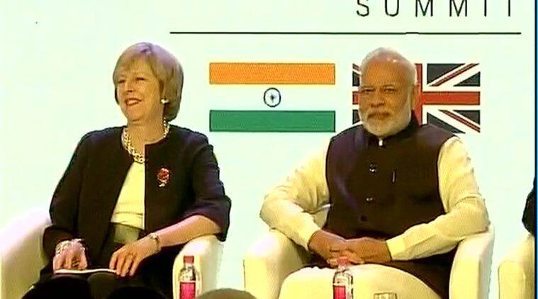 narendra modi, theresa may, theresa may in india, theresa may india visit, british PM india visit, british PM in india, india news