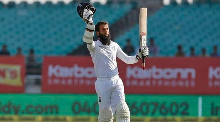 Moeen Ali, Moeen Ali rajkot test, Moeen Ali runs, Moeen Ali century, Moeen Ali bowling, India vs england, ind vs eng, Indian batting order, cricket, cricket news, sports, sports news