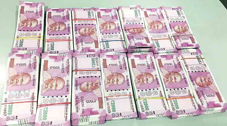 money seized, money seizure, cash, cash seizure, demonetisation, mumbai airport, mumbai airport cash seizure, demonetisation, Rs 2000 notes, india news