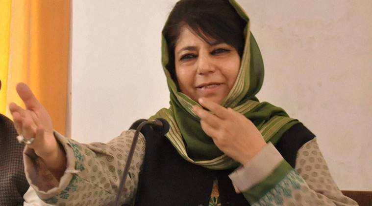 Mehbooba Mufti,, kashmir, kashmir unrest, uri attack,kashmir school attack, school burned, kashmir school burned, kashmir terrorism, indian express news, india news