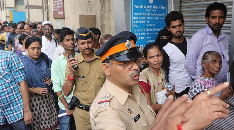 Nearly 46 grievance cells have been set up, including one at the state police headquarters. Express Photo by Ganesh Shirsekar)