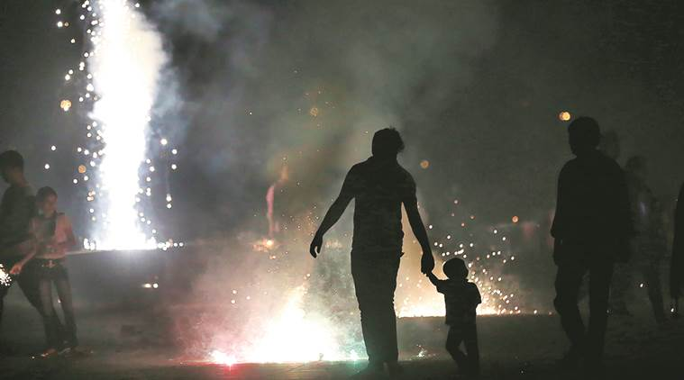 Mumbai witnessed a spike in pollution levels a day after Diwali. AP