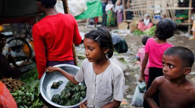 Myanmar, Rohingya fleeing Rakhine, Rakhine conflict, Myanmar Rohingya conflict, Myanmar Rohingya, Latest news, India news, World news, International news