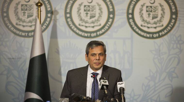 Pakistan's foreign ministry spokesman Nafees Zakaria (Source: File/AP Photo)