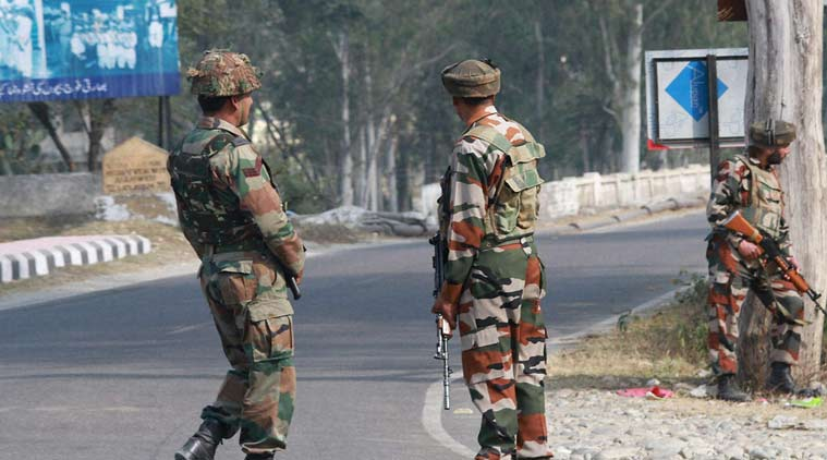 Nagrota attack, Nagrota, Jammu and Kashmir attack, Nagrota attack, Jammu and kashmir, J&K militants, J&K encounter, Kashmir encounter, Ramgarh sector , samba, afzal guru, india news, indian express news