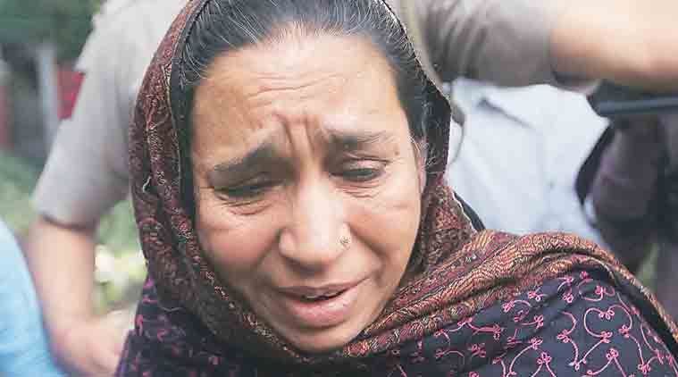 JNU, najeeb ahmed, najeeb ahmed mother, mother of JNU student, missing JNU student, JNU missing student, Rajnath Singh, home minister rajnath singh, indian express, india news